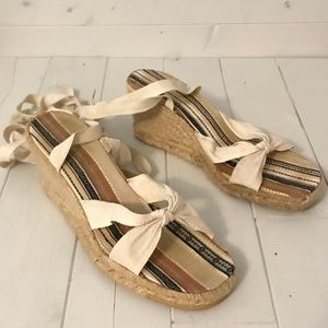 Espadrilles Sandal High Heel